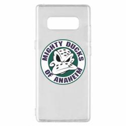 Чехол для Samsung Note 8 Anaheim Mighty Ducks Logo