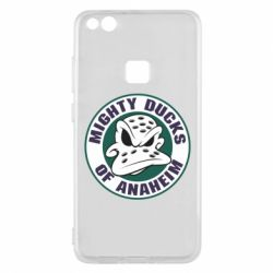 Чехол для Huawei P10 Lite Anaheim Mighty Ducks Logo - FatLine