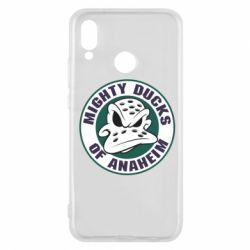 Чехол для Huawei P20 Lite Anaheim Mighty Ducks Logo - FatLine