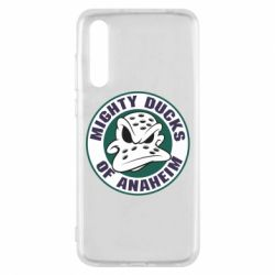 Чехол для Huawei P20 Pro Anaheim Mighty Ducks Logo - FatLine