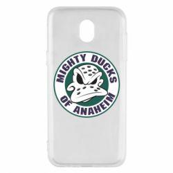 Чехол для Samsung J5 2017 Anaheim Mighty Ducks Logo