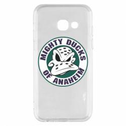 Чехол для Samsung A3 2017 Anaheim Mighty Ducks Logo