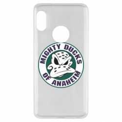 Чехол для Xiaomi Redmi Note 5 Anaheim Mighty Ducks Logo - FatLine