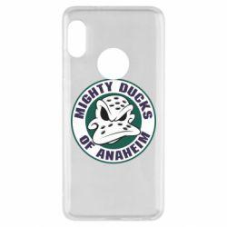 Чехол для Xiaomi Redmi Note 5 Anaheim Mighty Ducks Logo
