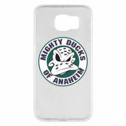 Чехол для Samsung S6 Anaheim Mighty Ducks Logo
