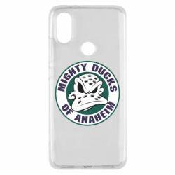 Чехол для Xiaomi Mi A2 Anaheim Mighty Ducks Logo