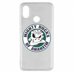 Чехол для Xiaomi Mi8 Anaheim Mighty Ducks Logo