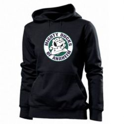 Женская толстовка Anaheim Mighty Ducks Logo