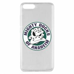 Чехол для Xiaomi Mi Note 3 Anaheim Mighty Ducks Logo