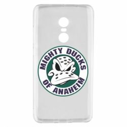 Чехол для Xiaomi Redmi Note 4 Anaheim Mighty Ducks Logo - FatLine
