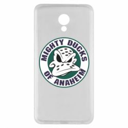 Чехол для Meizu M5 Note Anaheim Mighty Ducks Logo - FatLine