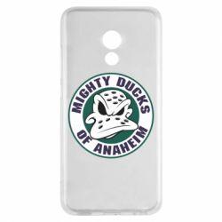 Чехол для Meizu Pro 6 Anaheim Mighty Ducks Logo - FatLine