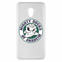 Чехол для Meizu Pro 6 Plus Anaheim Mighty Ducks Logo - FatLine