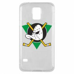 Чехол для Samsung S5 Anaheim Mighty Ducks