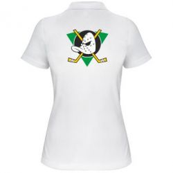 Женская футболка поло Anaheim Mighty Ducks - FatLine