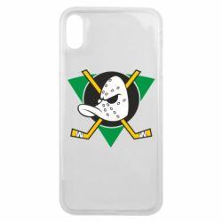 Чехол для iPhone Xs Max Anaheim Mighty Ducks