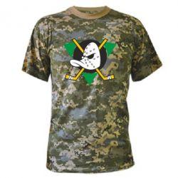 Камуфляжная футболка Anaheim Mighty Ducks - FatLine