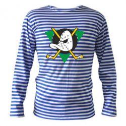 Тельняшка с длинным рукавом Anaheim Mighty Ducks - FatLine