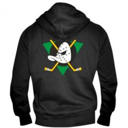 Мужская толстовка на молнии Anaheim Mighty Ducks - FatLine
