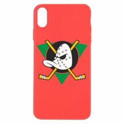 Чехол для iPhone X/Xs Anaheim Mighty Ducks