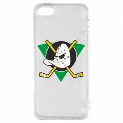 Чехол для iPhone5/5S/SE Anaheim Mighty Ducks