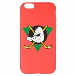 Чехол для iPhone 6 Plus/6S Plus Anaheim Mighty Ducks