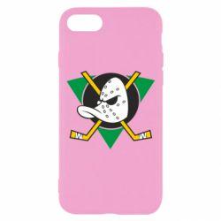 Чехол для iPhone 8 Anaheim Mighty Ducks