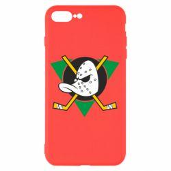 Чехол для iPhone 8 Plus Anaheim Mighty Ducks