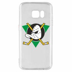 Чехол для Samsung S7 Anaheim Mighty Ducks