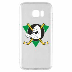 Чехол для Samsung S7 EDGE Anaheim Mighty Ducks