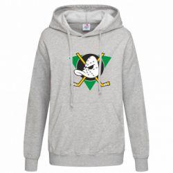 Женская толстовка Anaheim Mighty Ducks - FatLine