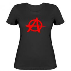 Женская футболка Anarchy - FatLine
