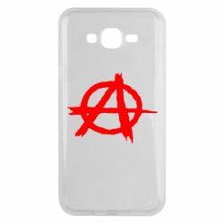 Чехол для Samsung J7 2015 Anarchy
