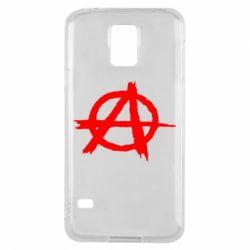 Чехол для Samsung S5 Anarchy