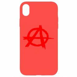 Чехол для iPhone XR Anarchy