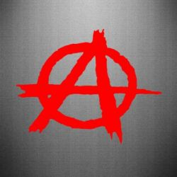 Наклейка Anarchy - FatLine