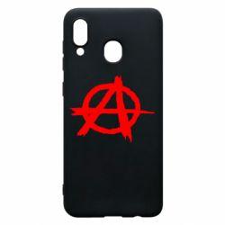 Чехол для Samsung A20 Anarchy