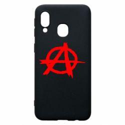 Чехол для Samsung A40 Anarchy
