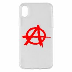 Чехол для iPhone X/Xs Anarchy