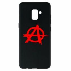 Чехол для Samsung A8+ 2018 Anarchy