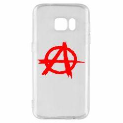 Чехол для Samsung S7 Anarchy