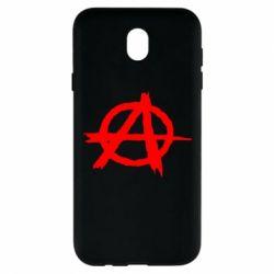 Чехол для Samsung J7 2017 Anarchy