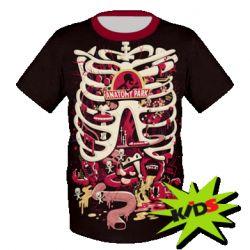 Дитяча 3D футболка Anatomy Park - FatLine