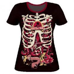 Жіноча 3D футболка Anatomy Park - FatLine