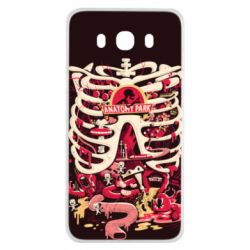 Чохол для Samsung J7 2016 Anatomy Park - FatLine