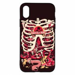 Чохол для iPhone X/Xs Anatomy Park - FatLine