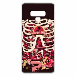 Чохол для Samsung Note 9 Anatomy Park - FatLine
