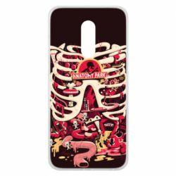 Чохол для Meizu 16 plus Anatomy Park - FatLine