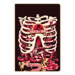 Блокнот А5 Anatomy Park - FatLine