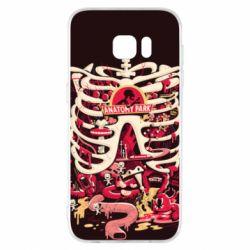 Чохол для Samsung S7 EDGE Anatomy Park - FatLine